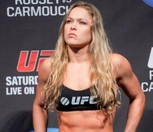 la combattante Ronda Rousey