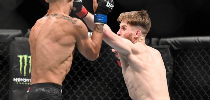MMA: UFC Fight Night-Copenhagen-Shore vs Hernandez